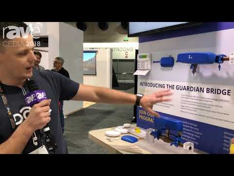CEDIA 2018: Guardian Features Water Mitigation Solution at Z-Wave Alliance Booth