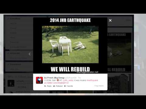 Social media reacts to 5.3 earthquake in South Africa