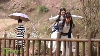 [BTS] Zhao Li Ying & William Chan - Piggyback Cut