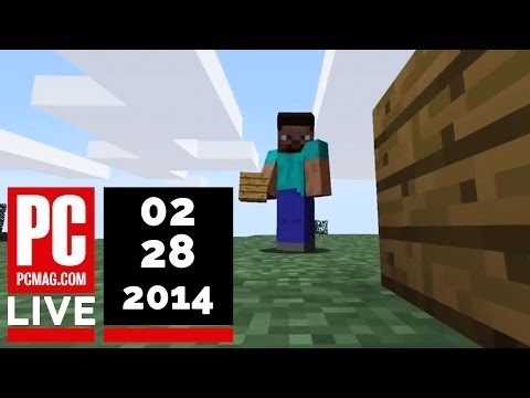 PCMag Live 02/28/14: Bitcoin Exchange Mt. Gox Goes Bust & A Minecraft Movie