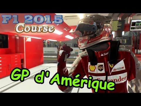 Formule 1 2015 - Grand Prix d'Amerique [Course]