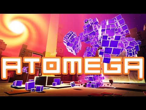 The ULTIMATE OMEGA Attack ROBOT! - Atomega Gameplay - New Game Like io Game