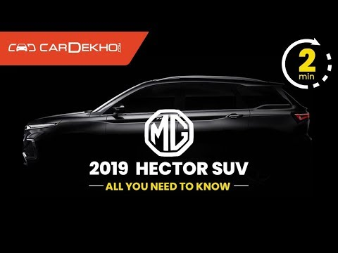 MG Hector SUV India Launch Soon | All We Know So Far | #In2Mins