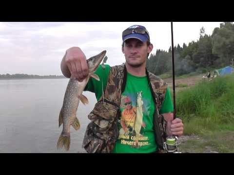 рыбалка на каме летом спиннингом видео