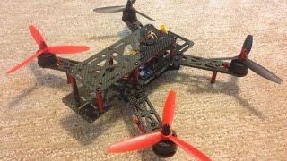 Drone NightHawk QAV 250 - Emax Motors