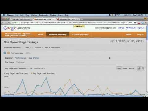 Google I/O 2012 - Real World Web Performance Measurement