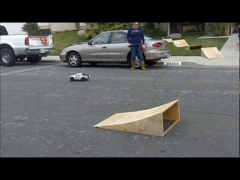 rc car ramp jump. Black Bedroom Furniture Sets. Home Design Ideas