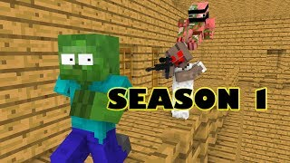 Monster School : SEASON 1 - Minecraft Animation