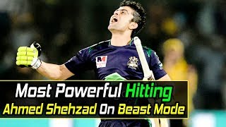 Most Aggressive Batting by Ahmed Shehzad In PSL History | Karachi Kings vs Quetta Gladiators | PSl