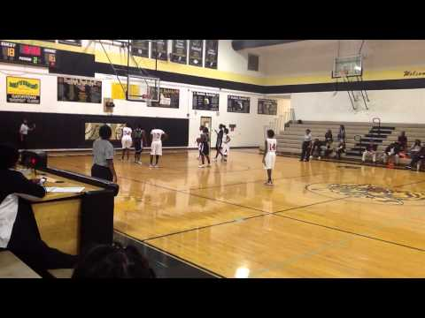 HC Girls (Black) 63 vs. Palm Beach Lakes (White) 48- 1/5/13 Clip 2