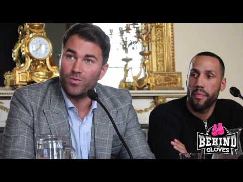 FULL James DeGale press conference announcing IBF title shot after Froch vacates belt