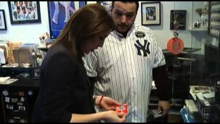 Auburn man displays extensive Yankees memorabilia collection
