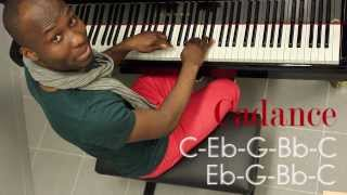 Salsa Tuto Dance Piano Lesson#1 Isaac G feat Uriel