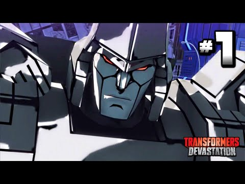 Transformers Devastation Walkthrough Part 1 · Chapter 1: Cit
