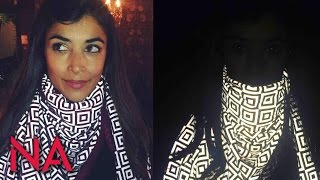 download lagu How The 'anti-paparazzi' Scarf That Ruins Photos Really Works gratis