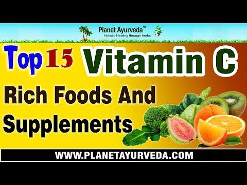 Foods of vitamin c