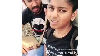 Abarna Sundarraman latest Vadivelu Dubsmash | Vadivelu Comedy | Abarna Sundarraman | Tamil Musically