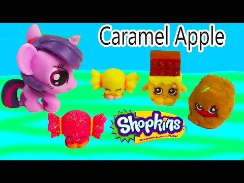 Mlp Fashems Twilight Sparkle Shopkins Halloween Candy My Little Pony Play-doh Small Mart video