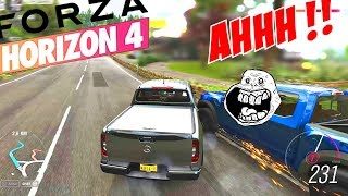 FORZA HORIZON 4 BEST MOMENTS, RAGE, FAILS & STUNTS