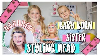 BFF FUN🤗BABY BORN SISTER STYLING HEAD | MaVie Werbevideo