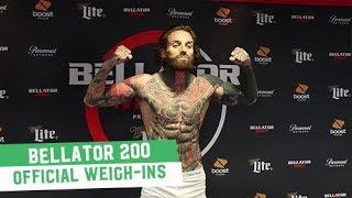 Bellator 200: Official Weigh-Ins