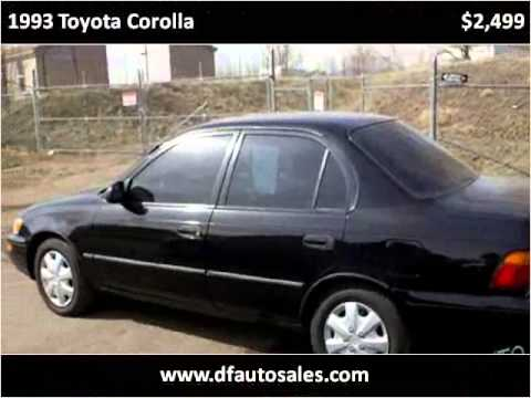 1993 Toyota Corolla Used Cars Denver CO