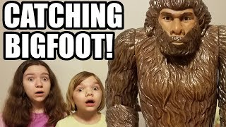 Catching Bigfoot! We Made A Bigfoot Trap! | Babyteeth More!