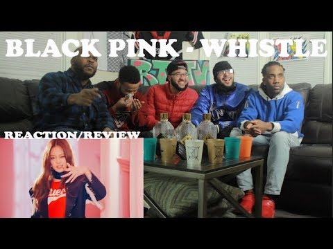 FIRST BLACKPINK - '휘파람'(WHISTLE) M/V REACTION/REVIEW
