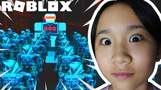 This is the FUTURE, and It's Scary! / Roblox: Time Machine Story