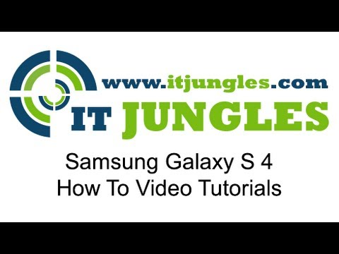 Samsung Galaxy S4: How to Turn LED Indicator Light On/Off