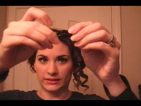 1950s hairstyles how to. Pin Up Girl Hair Tutorial - Simple 1950's Hairstyle - Short Hair - Lucille