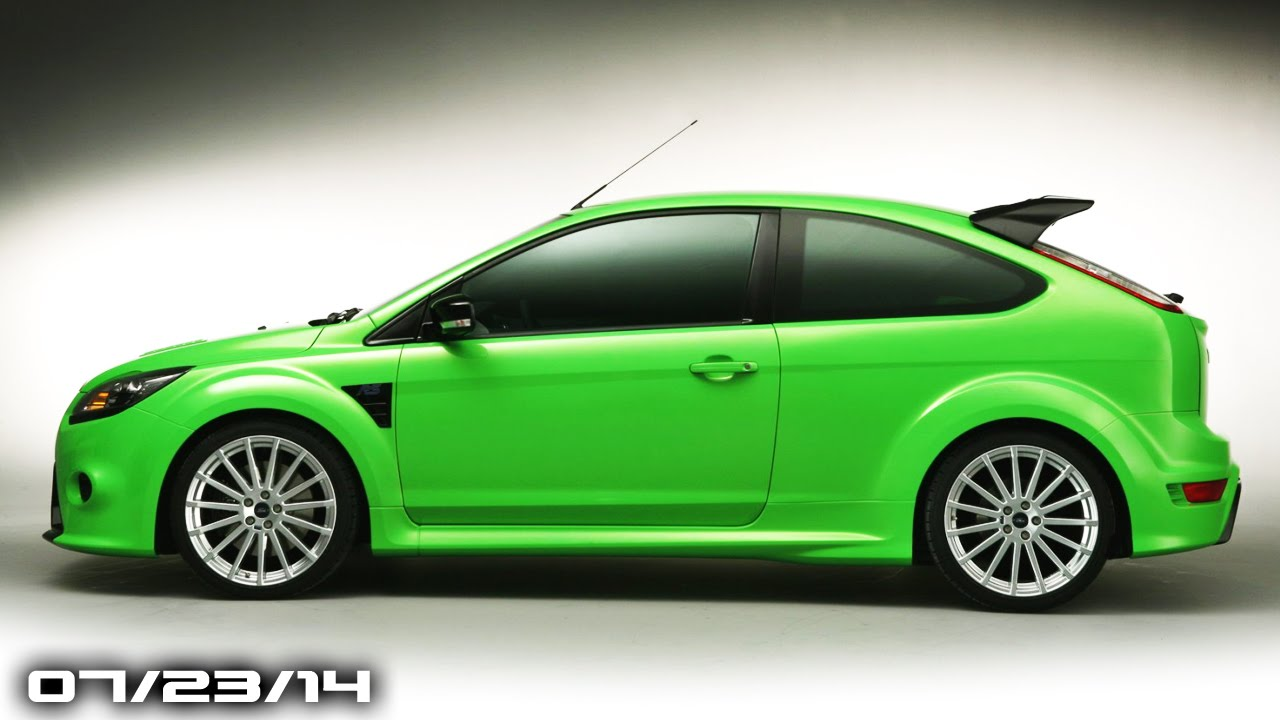 Ford Focus Rs Specs Challenger Srt Hellcat Production Baby Bentley Fast Lane Daily Youtube