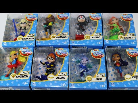 Mini DC Superhero Girls Batgirl Supergirl Wonder Woman Harley Quinn