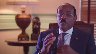 H.E. Gaston Brown - Prime Minister of Antigua and Barbuda - ABC TV - World Business Report