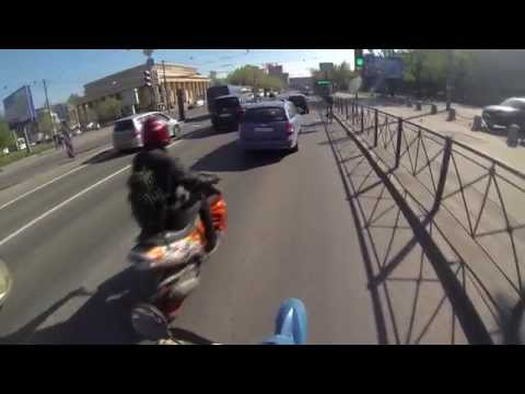 Big Scootervideo Sexy Boobs From Saint-petersburg With 2stroke Oil video