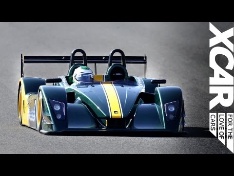 Caterham SP300R, driven on track - XCAR