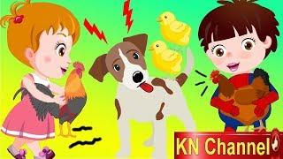 Hoạt hình KN Channel BÉ NA HÒA GIẢI HIỂU LẦM CỦA CHÓ VỊT VÀ GÀ | Hoạt hình Việt Nam