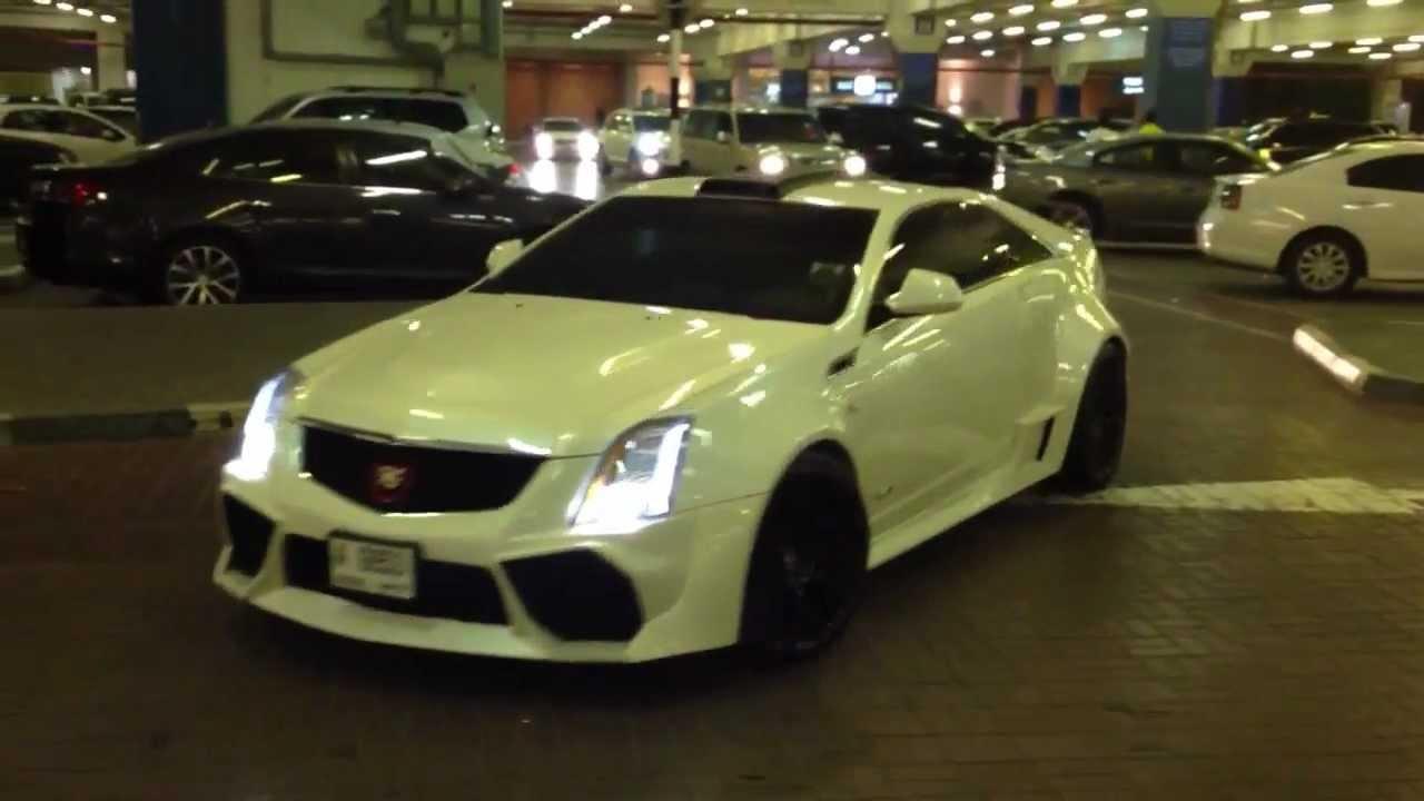 Cadillac Cts V Coupe Youtube