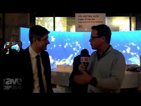 ISE 2015: Gary Speaks with Damien Weissenberger, Presentation & Communications GM of Sony Europe