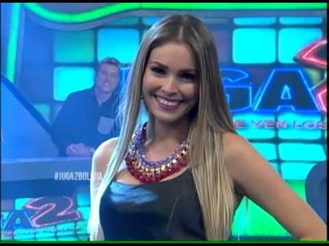 La top magnifica Marcia Avila vuelve a enfrentar la cancha de #Juga2Bolivia