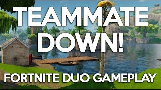 Teammate Down!! Fortnite Duo Gameplay - Ninja and Dr. Lupo