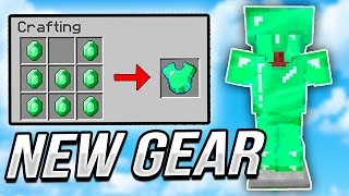 I FINALLY got the EMERALD ARMOR in Minecraft
