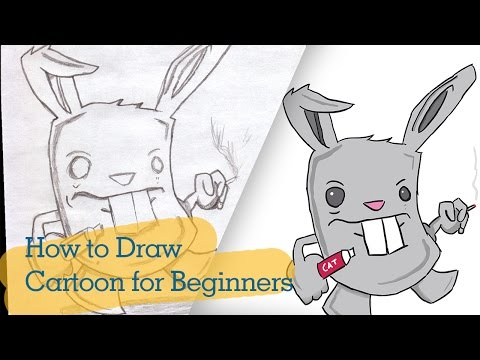 How To Draw Cartoons For Beginners