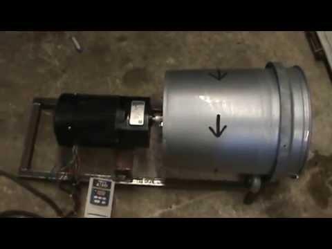 Wet brass tumbler direct drive
