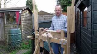 Using a Pole Lathe - How to get Best Results, Chisels to Use etc.