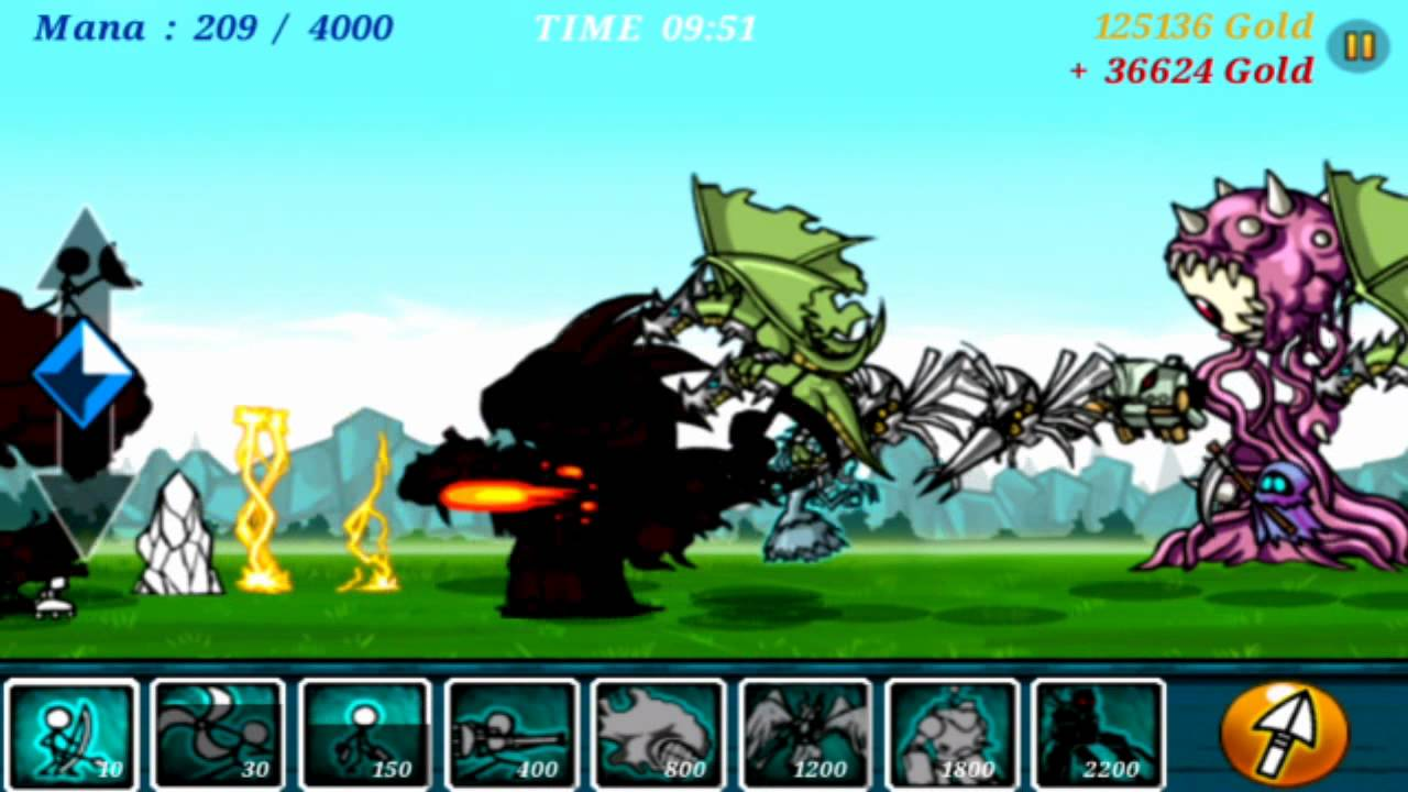 Cartoon wars level 52 great quality game play - YouTube