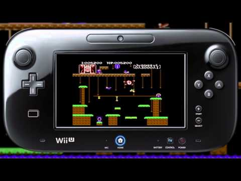 'Donkey Kong Jr'. Official Trailer From Atari To WII U【HD】