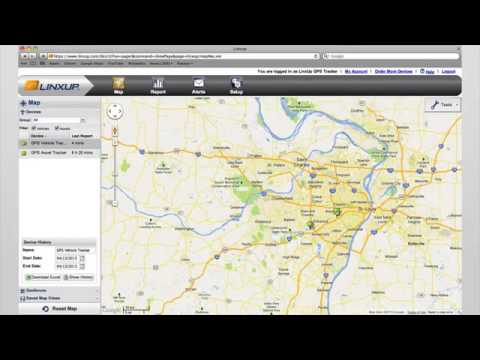 Real-time GPS Tracking with Linxup GPS Vehicle Tracking