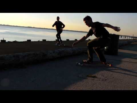 Longboard Sunrise Session with the Pintail by Original Skateboards