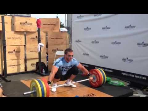 Dmitry Klokov - 4 Dead lift + Snatch - 170 kg Image 1
